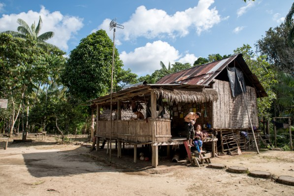 Tikuna village