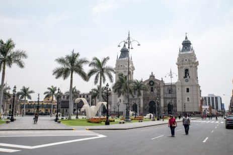 Historical center Lima