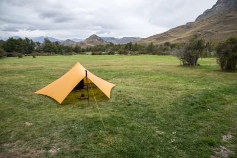 Camping in Parque Patagonia