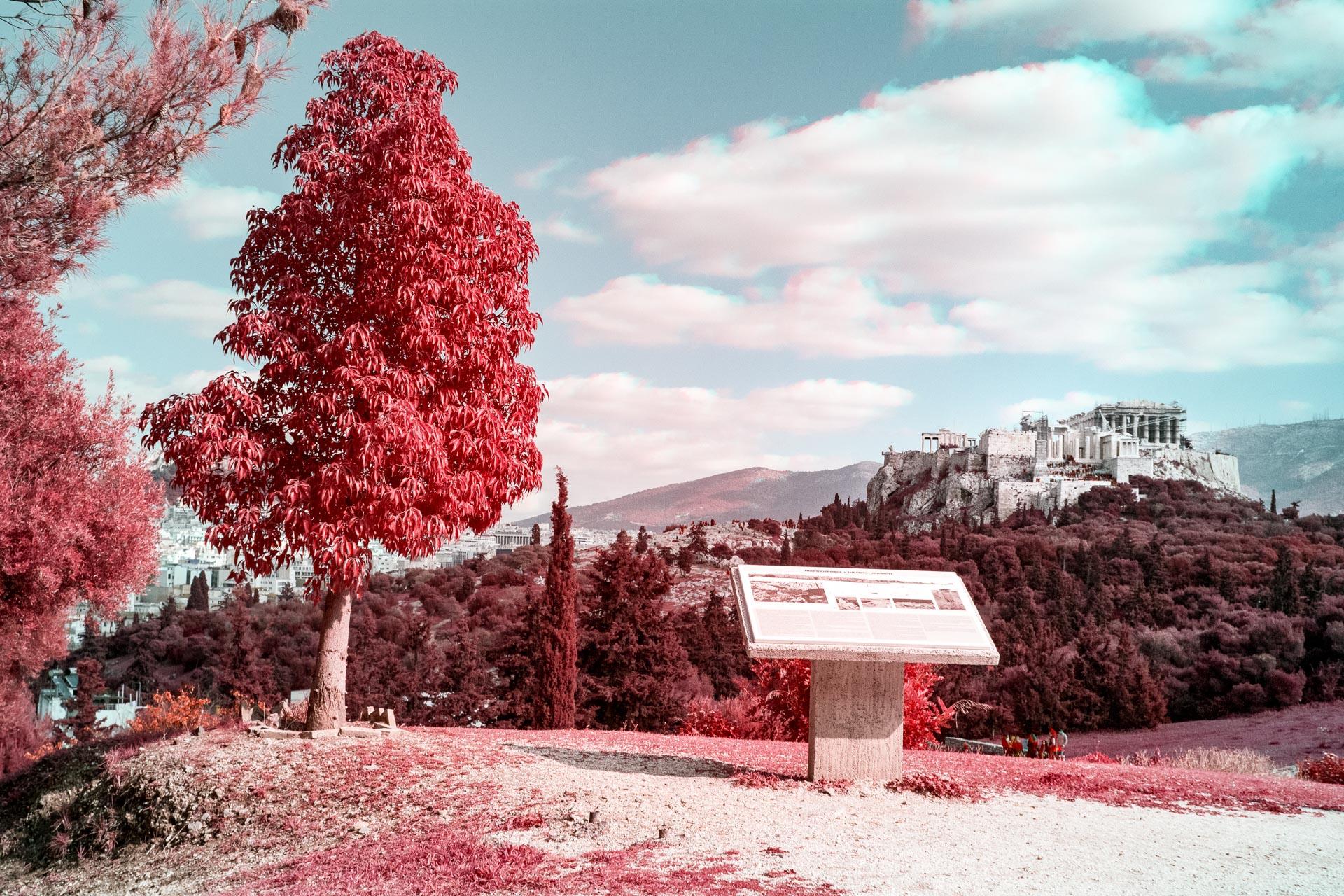 Infrared Trichrome