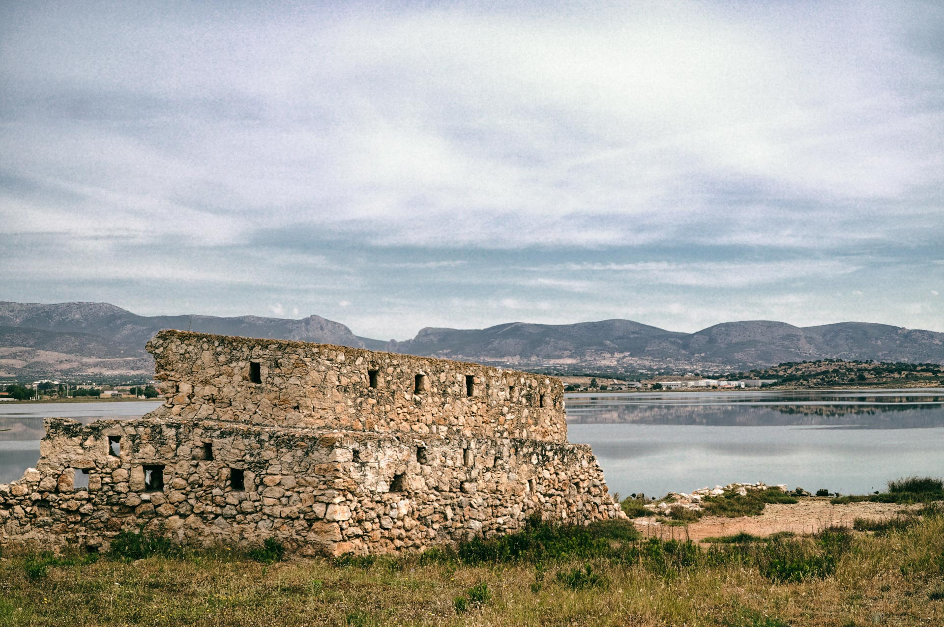 The Wall of Agia Triada