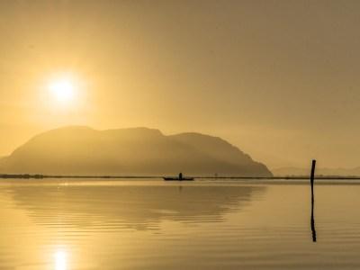Sunrise at the Lagoon