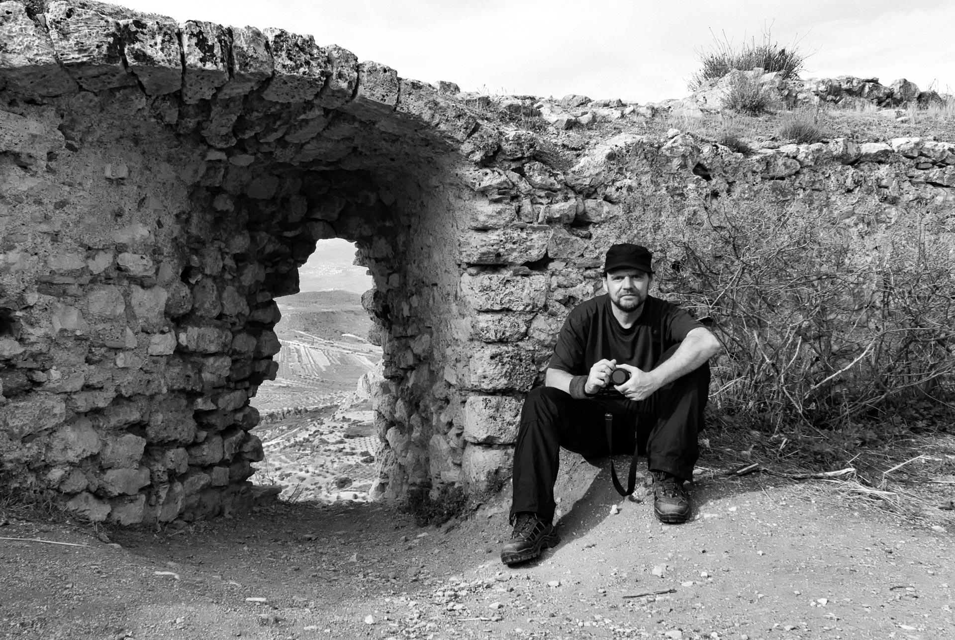 Photographer Mike Jackobo (Self Portrait)