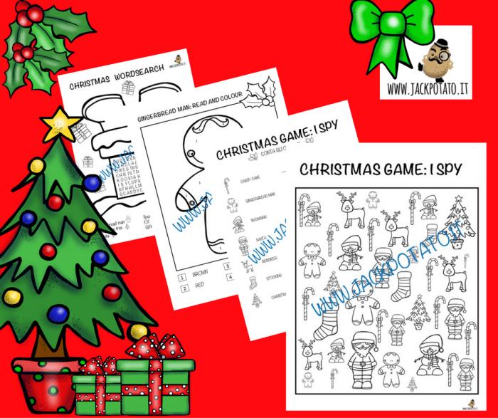 Idee Sul Natale.Schede Didattiche Sul Natale Archivi Jack Potato