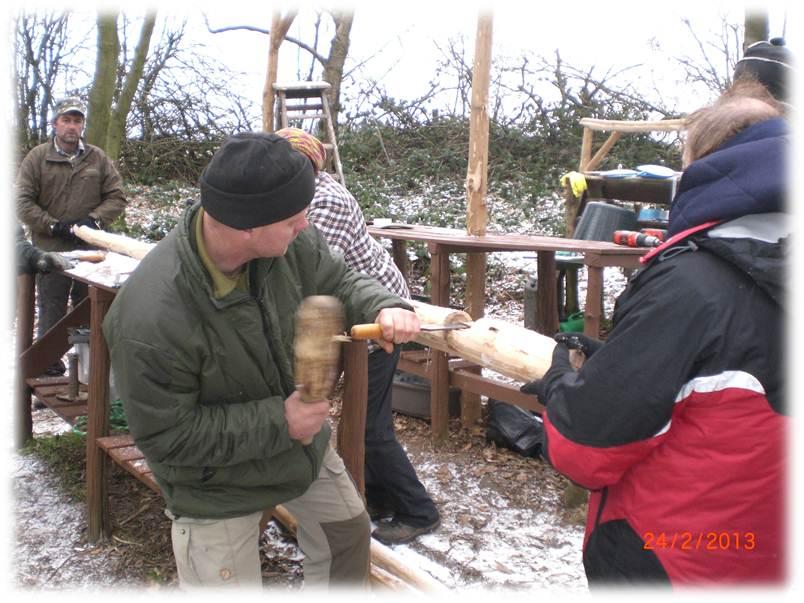 Bushcraft Camp | Kitchen | Tarp | camp maintenance weekend | bushcraft camp | Kent