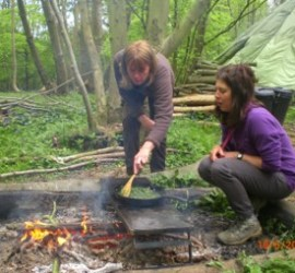 wild & weedy curry | foraging | wild foods | bushcraft | Kent | south east | London