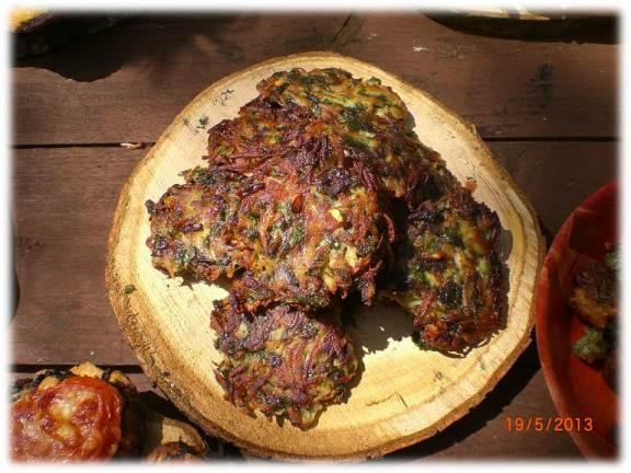 ground elder rostis | woodland cooking | wild foods | Kent | south east