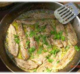 Mackerel Fillets with Sheep Sorrel Sauce