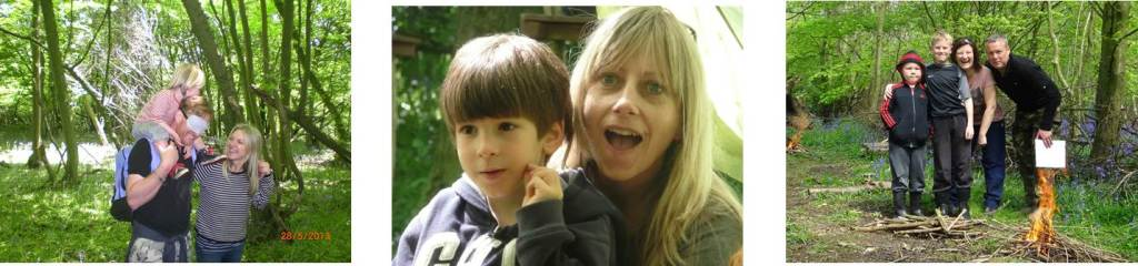 Family Bushcraft Courses | Woodland Holidays | Parent and Child Bushcraft | South East | Kent