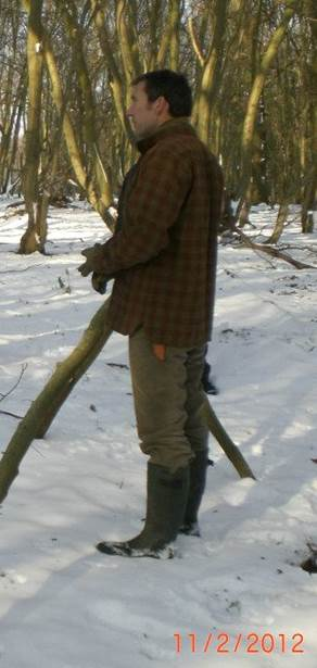 bushcraft winter clothing