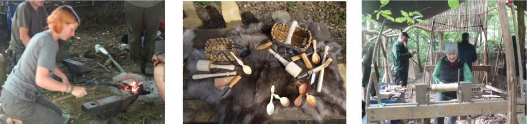 Blacksmithing, Bodging & Bushcraft in Kent
