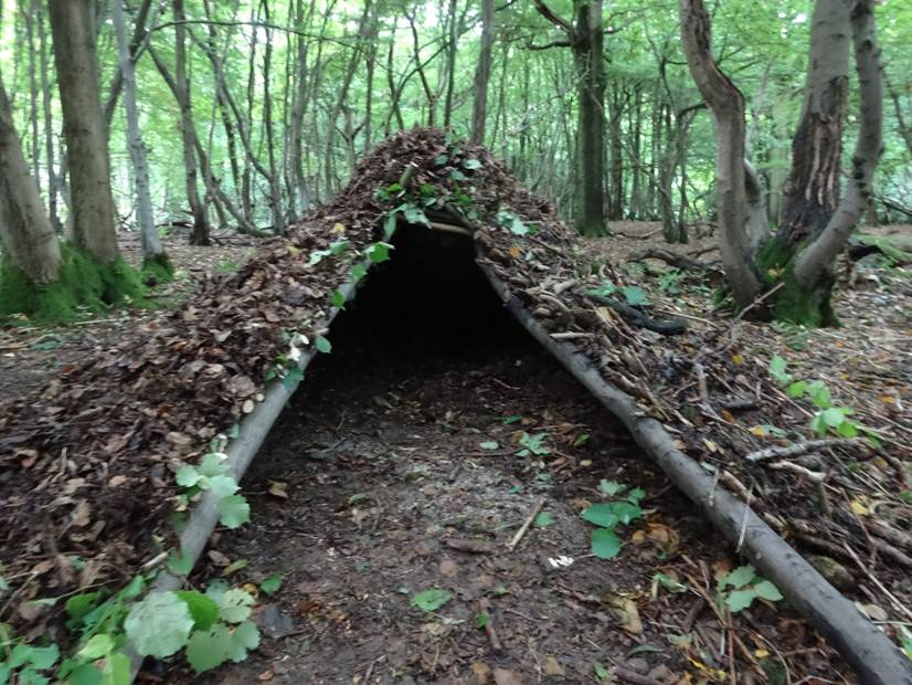 debris shelter building | south east | Kent