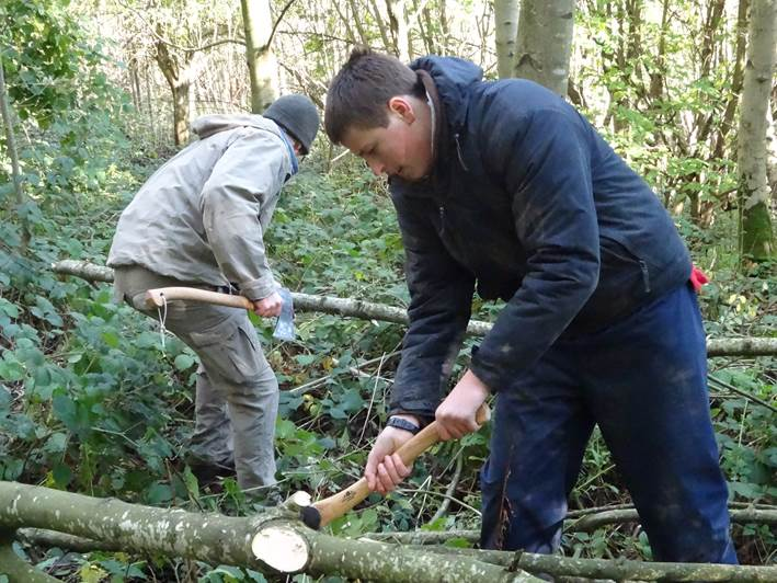 axe course | bushcraft | south east | Kent