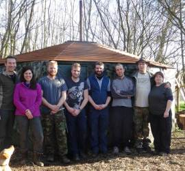 First course of 2014 | bushcraft | south east