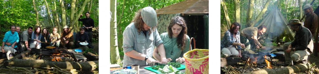 Wild food foraging in Kent