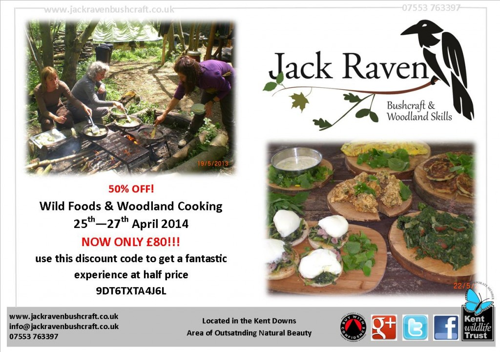 wild foods course | south east | Kent