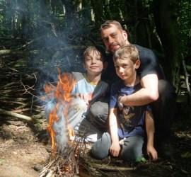 IOL Bushcraft Certificate | family bushcraft club | Kent | Ashford | Canterbury