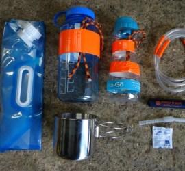 survival kit water