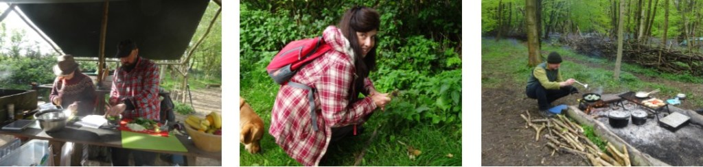 1:1 forage | woodland cooking | outdoor cooking | Kent | south east | London