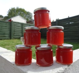 Rowan and crab apple jelly