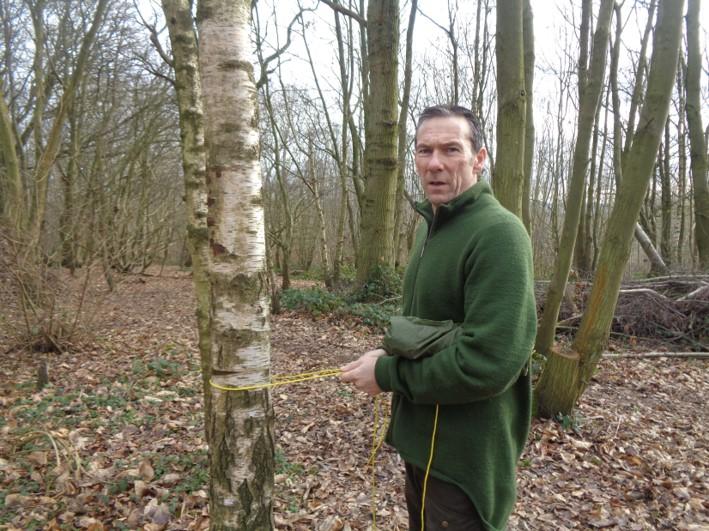evenk knot   siberian hitch   bushcraft   Kent   south east   London