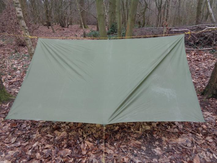 setting up a tarp \ bushcraft | Kent | south east | London