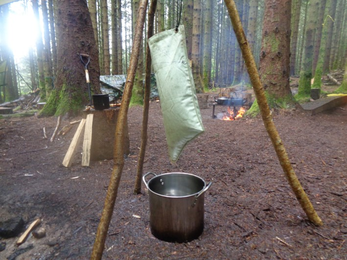 filtering water | bushcraft | Kent | south east | London