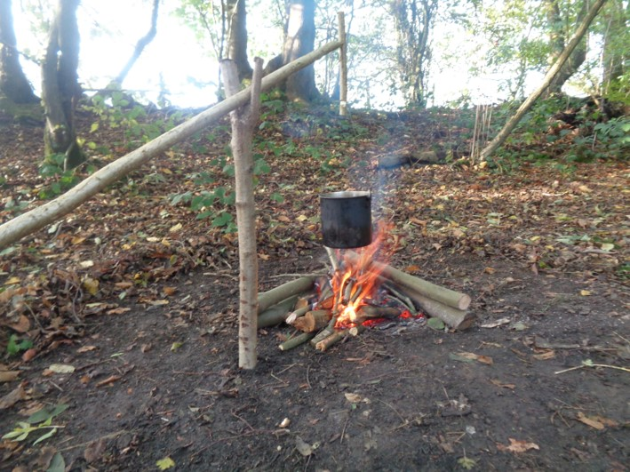 fire lays | bushcraft | Kent | south east | London