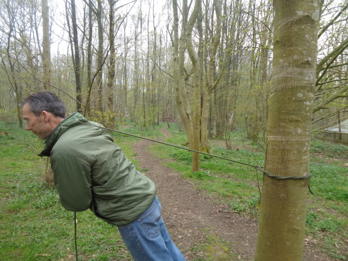 timber hitch | bushcraft | knots | Kent | south east | London