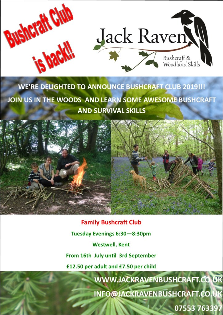 family bushcrfat club | Ashford | Canterbury | Kent | survival