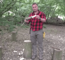 making a woodland mallwt | bushcraft | Kent | south east | London
