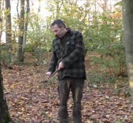 Using power strokes with a knife | bushcraft | Kent | London | south east | Sussex | Essex