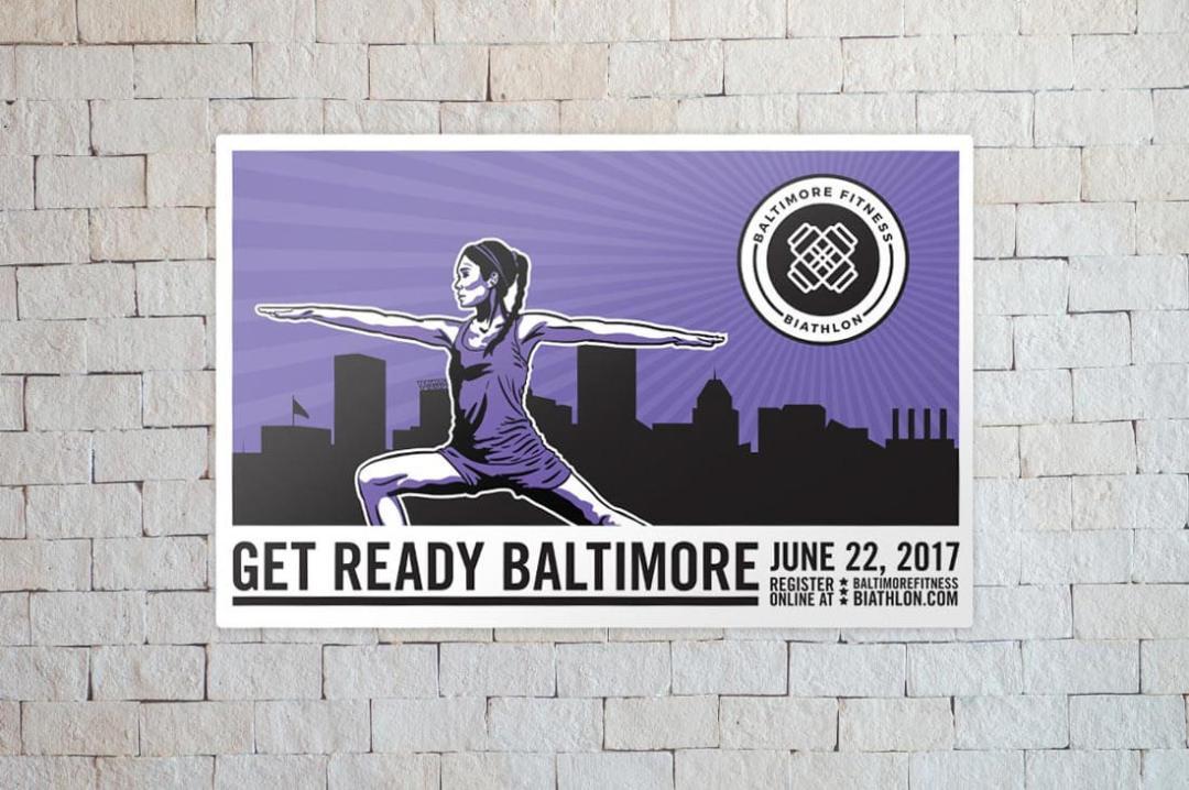 Baltimore Biathlon finished flyer