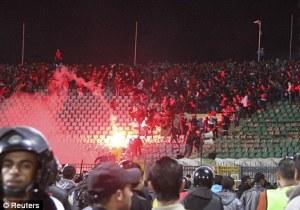 Soccer Stadium, Port Said (Suez Canal border town)
