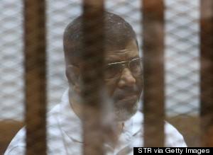 Former Egyptian President Muhammad Mursi
