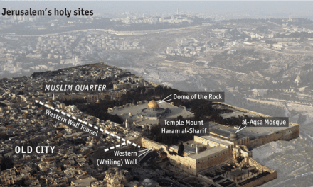 Temple Mount – Where the concealed prayers of a Jew hasten the Tribulation