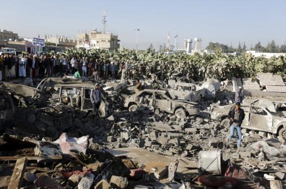 It is beginning – Saudi Arabia bombs Yemen overnight, 3/26/15