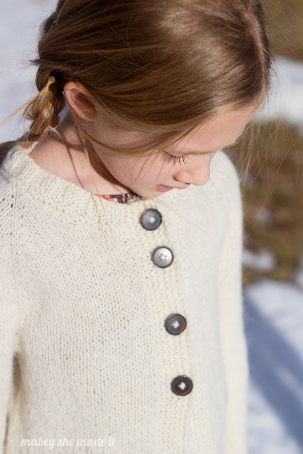 Snowy Shore Cardigan 3