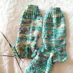 Driftwood Dollhouse Socks