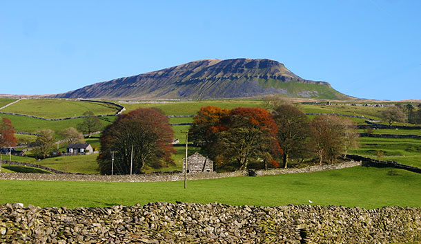 Penyghent, Ribblesdale autumn