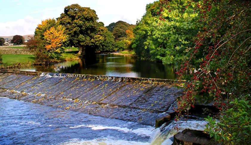 Ribblesdale langcliffe_weir
