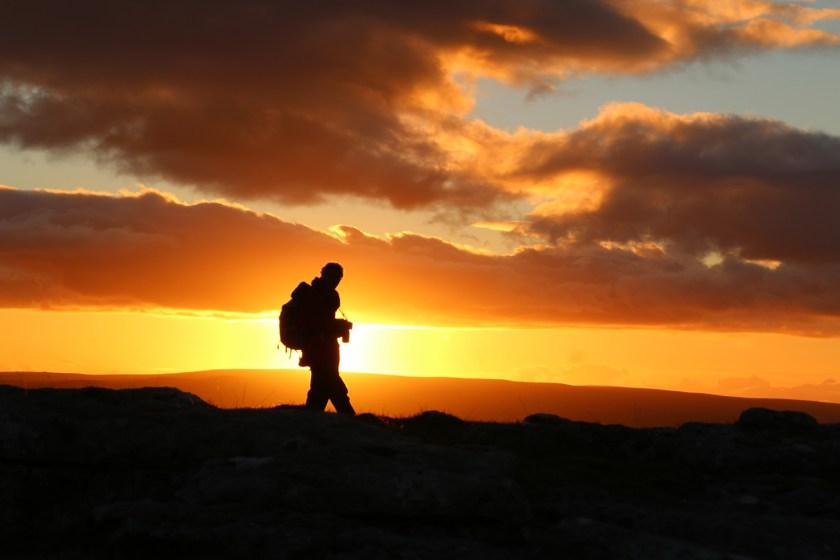 Dales sunset