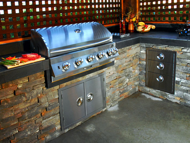 Gas Grills Amp Outdoor Kitchens Gallery Jackson Grills