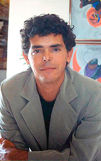 Photo brazilian author Jackson Rubem