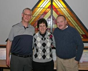Jeff, Kathy Wake, Bob Maddox