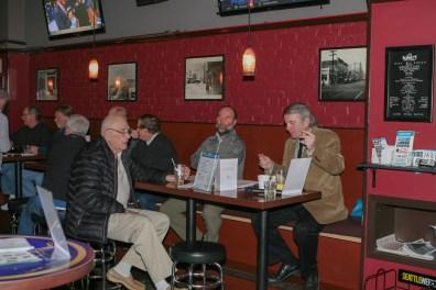 Dick Rovig, Dave Foreman, and Dan Puetz, Sr