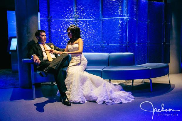 Michele And Jonathans Wedding At The Baltimore Aquarium