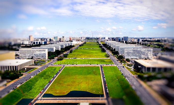Brasilia Esplanada dos Ministérios - Foto