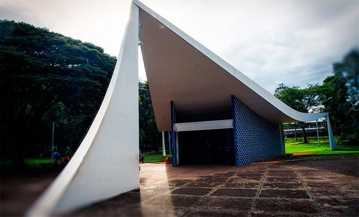 Imagem Brasilia Igrejinha Nossa Senhora de Fátima