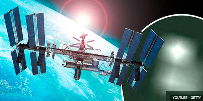OVNIs avistados pela ISS - fOTO